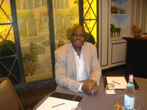 Mr. Kama Sywor KAMANDA:lors de notre entretien télévisé.