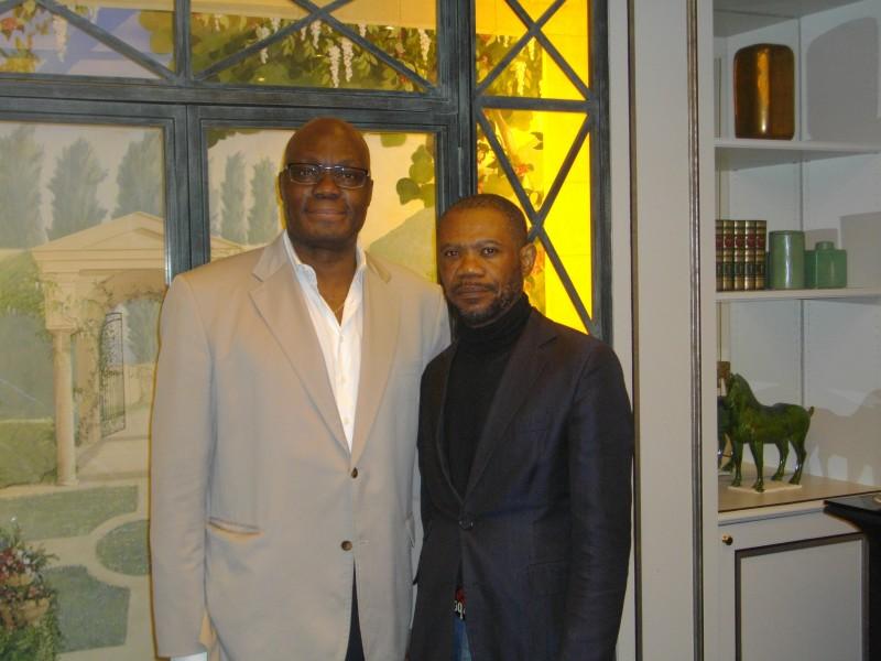 Kama et notre reporter d'images Wazule