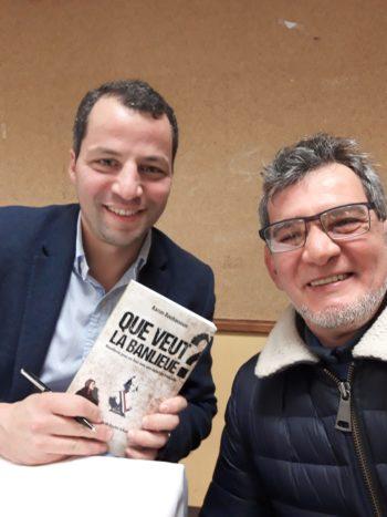 Karim Bouhassoun et Lyes Madani(Lunettes),Vitry,9/12/2017.