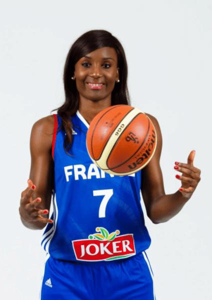 Laëtitia Kamba, 1ère «muana ya Congo» basketteuse française qui participa aux Jeux Olympiques (Rio/Brésil).