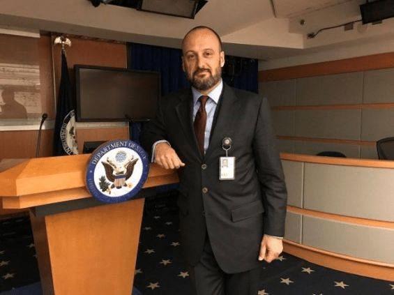 Le diplomate américain Brian T.Neubert, directeur d'Africa Regional Media Hub et porte-parole en français au Département d'Etat américain. (Photo: ARS/State Dept)