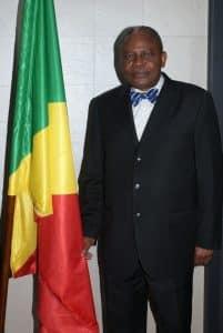 Paris, le leader politique  Koukebene après la présentation des voeux 2016 au peuple du Congo.