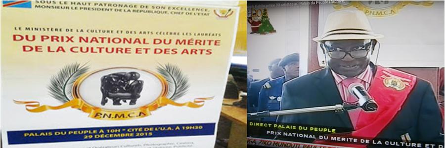 """Journaliste Robert Kongo: « LA REMISE DES MEDAILLES DU """"PRIX NATIONAL DE MERITE DE LA CULTURE ET DES ARTS"""" fait des mécontents dans la diaspora »."""