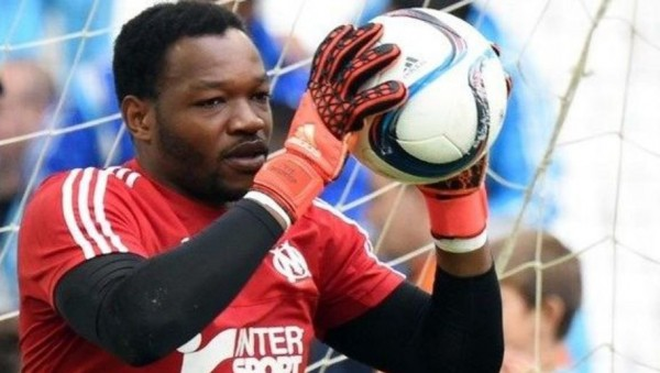Steve Mandanda, international (Archives Mandanda)