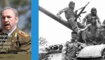 Feu Fidel Castro: une vérité cubaine dans la diaspora africaine en Europe, au Congo et en Angola.
