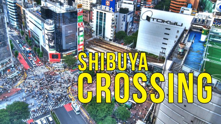 Une vue de la commune de Shibuya,située dans la capitale Tokyo: c'est un quartier des affaires, très vivant, de la mode, des jeunes...avec le plus grand carrefour du monde