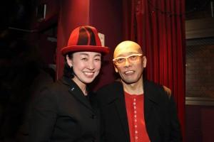 La japonaise Mayumi et le bassiste Daisuke Kamikawa,à Los Barbados de Tokyo