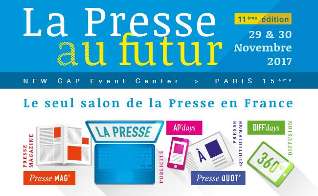 illustration du Salon « La Presse au Futur»