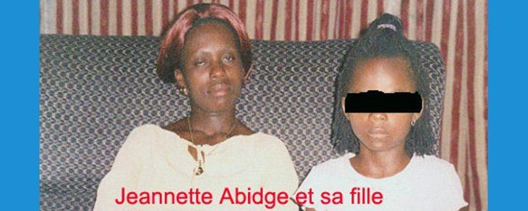 La Congolaise Jeannette Abidge : le droit doit être dit.