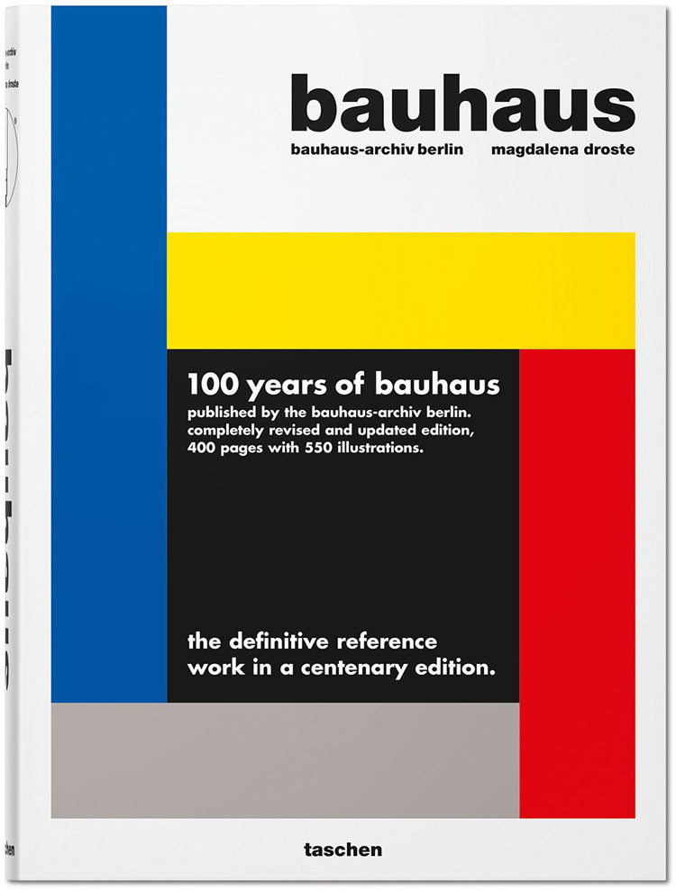 100 year of bauhaus eddition book