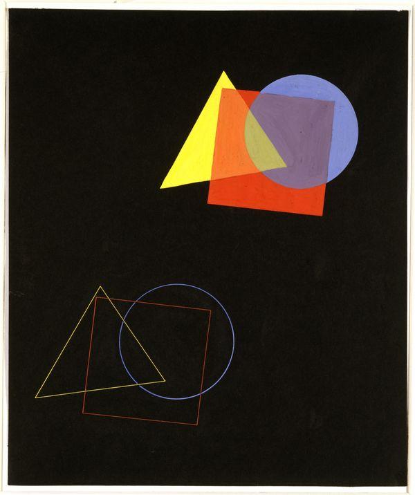 Kandinsky theory of color and shape