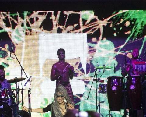 Concierto de Cimafunk en La Tropical. Foto: Abel Carmenate / Magazine AM:PM.