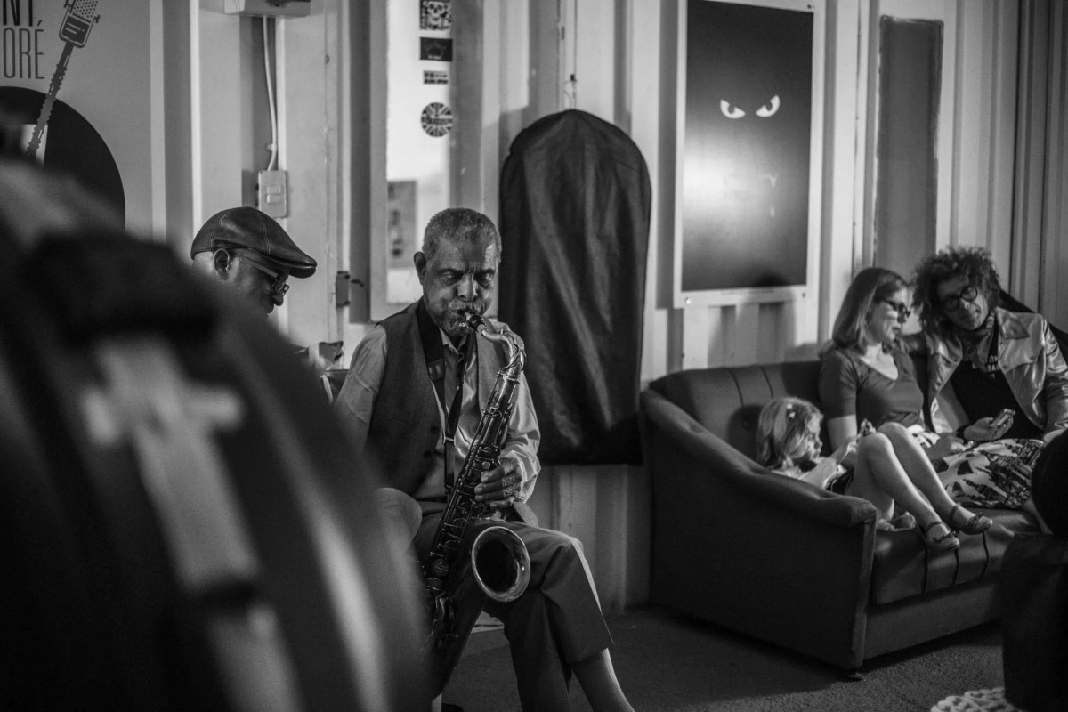 Backstage de un concierto del Preservation Hall Jazz Band. Foto: Larisa López.