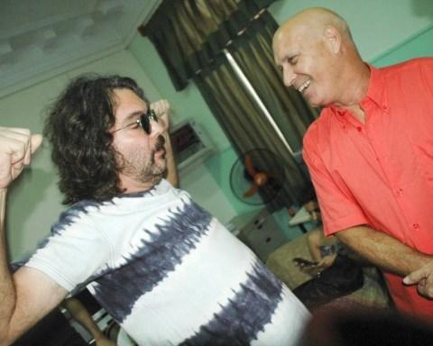 Santiago y Vicente Feliú. Foto: Kaloian