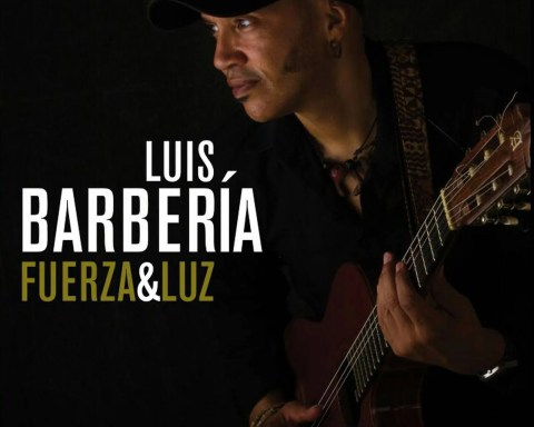 """Portada del álbum """"Fuerza y Luz"""", de Luis Alberto Barbería."""