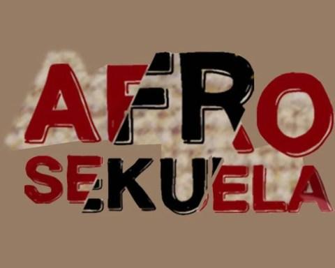 Detalle de la portada del playlist Afrosekuela, de Guámpara Music. Ilustración: Dj Jigüe / Guámpara Music.