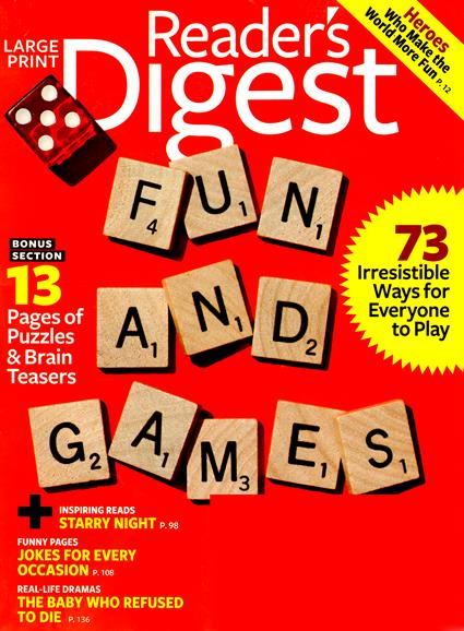 Reader's Digest Large Print Magazine Subscriptions ...