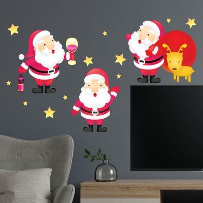 Adesivo de ParedePapai Noel Natal