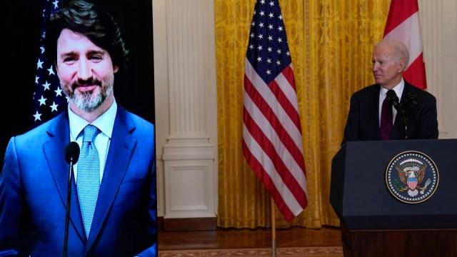 Trudeau y Biden se comprometen a luchar contra el COVID-19, el cambio climático y a reconstruir la economía