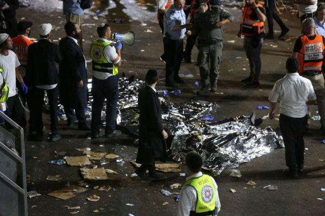 Más de 40 personas murieron en estampida durante un festival israelí