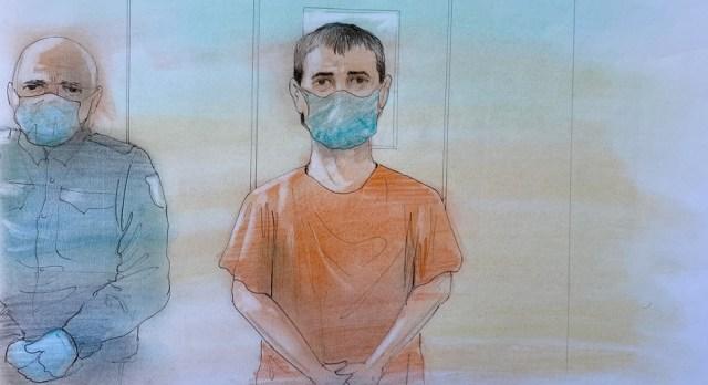 Nathaniel Veltman fue acusado de terrorismo tras ataque vehicular