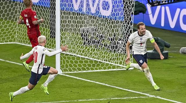 Inglaterra supera a Dinamarca y alcanza la final de la Eurocopa 2020