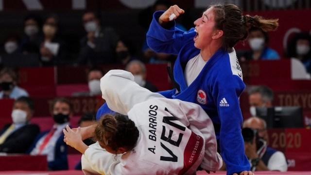 La victoria de bronce de Beauchemin-Pinard le da a Canadá la segunda medalla de judo en Tokio