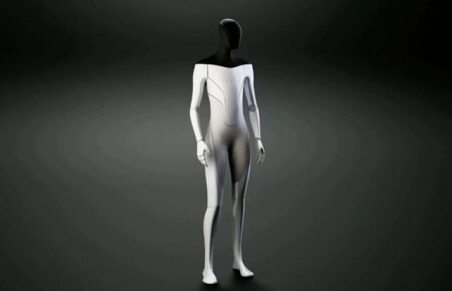 Tesla presenta al público su robot humanoide