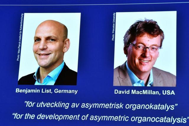 Nobel de Química a McMillan y List por una técnica para construir moléculas