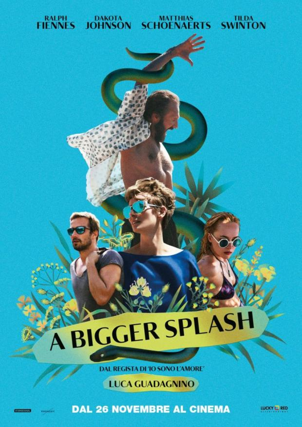 A bigger splash - MagaZinema