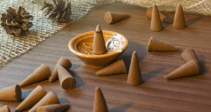 dried plant material used for home fragrance