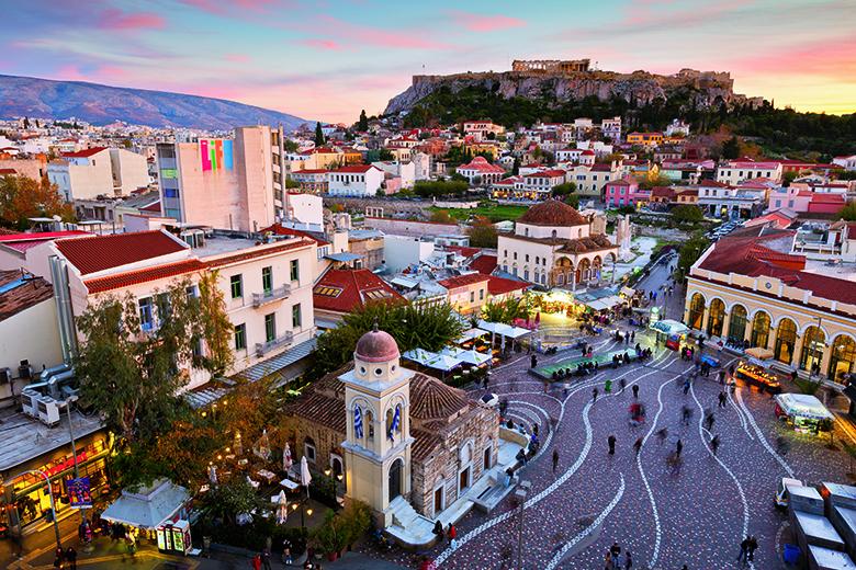 Athen: Zwischen Antike und Moderne. Foto: Shutterstock/Milan Gonda