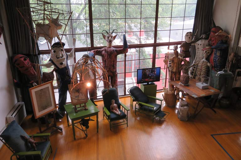 Inside the studio of Frida Kahlo
