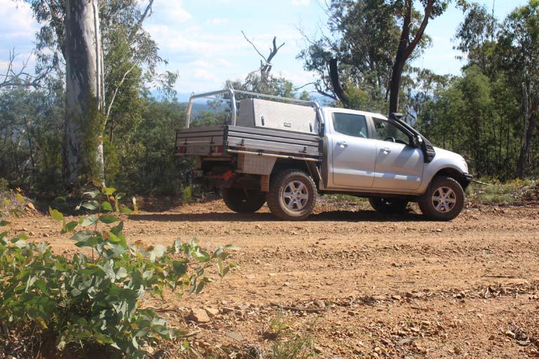 Four wheel drive truck