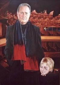 Portret van een gentleman Herman S, olieverf op paneel, 76x106cm