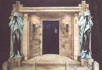 De Wachters van de Nacht, olieverf op paneel, 89x64cm