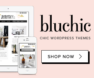 BluChic – Feminine Chic WordPress Themes