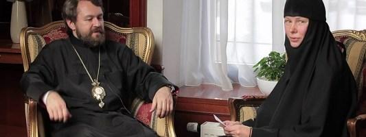 Беседа с митрополитом Иларионом