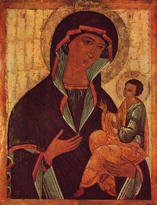 Matka Boża ikona Hodigitria