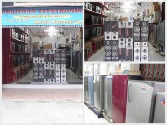 toko eletronik lengkap besar di magelang murah kredit parabola magelang tv kabel magelang K-vision magelang orange tv magelang
