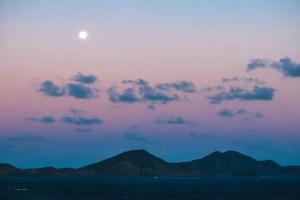 St. Kitts Sailaway Moonrise