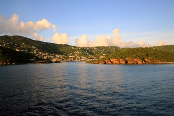 Sail away from St. Thomas