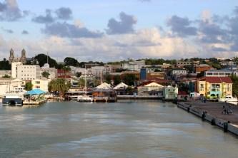 I really enjoyed St. John's, Antigua. It's quaint; not as commercial as Aruba, etc.