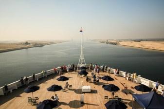 Suez from the Bridge