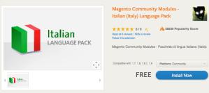 Magento Lingua Italiana