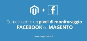 Pixel di monitoraggio Facebook Magento
