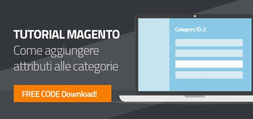 Guida Magento attributi Categoria