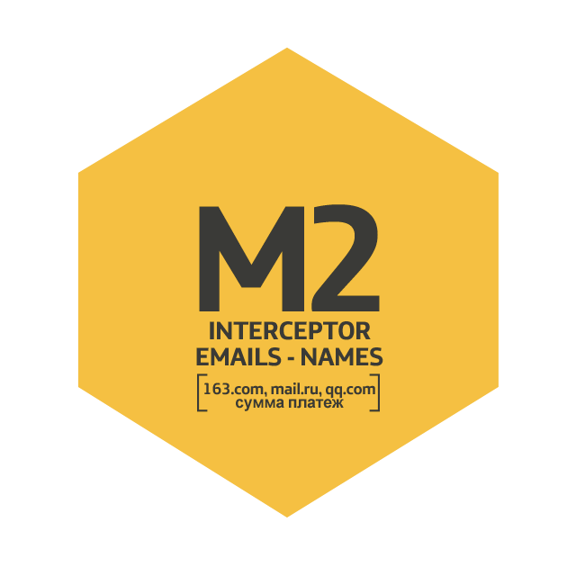 Módulo M2 Interceptor Emails - Names