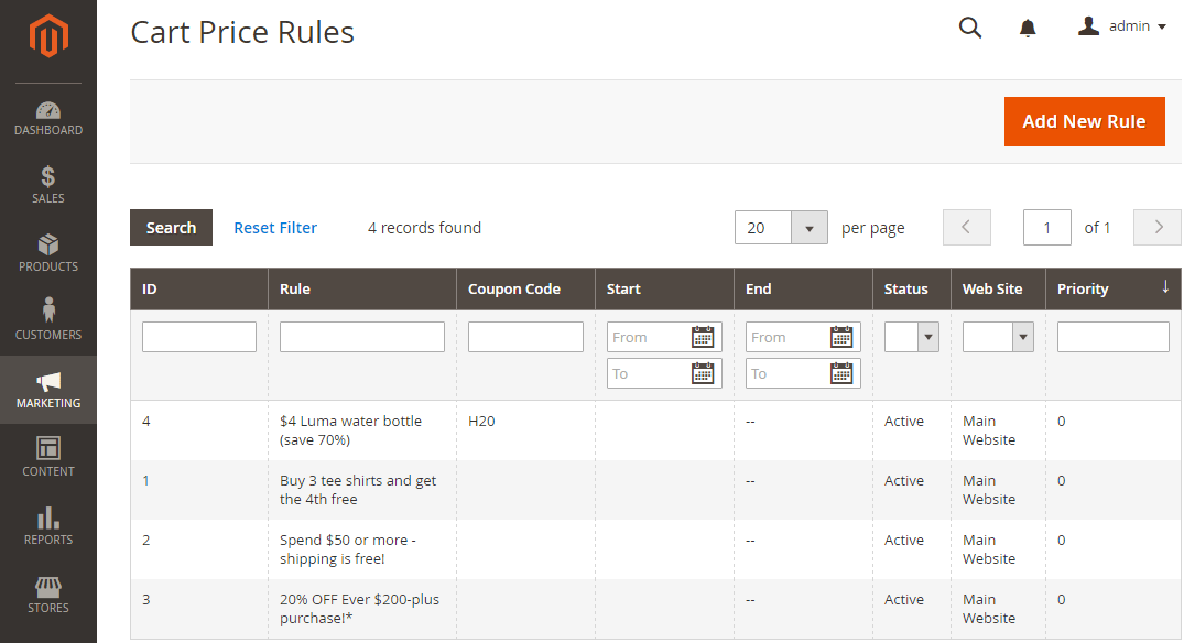 How to Create a Cart Price Rule Cart Price Rules