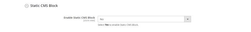 Static CMS Block